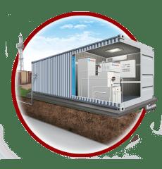 Очистные сооружения цельноперевозные контейнерного типа ЮНИЛОС® серии «Контейнер»